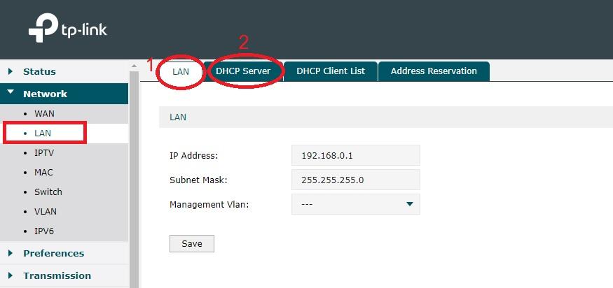 tp link load balancer port forwarding