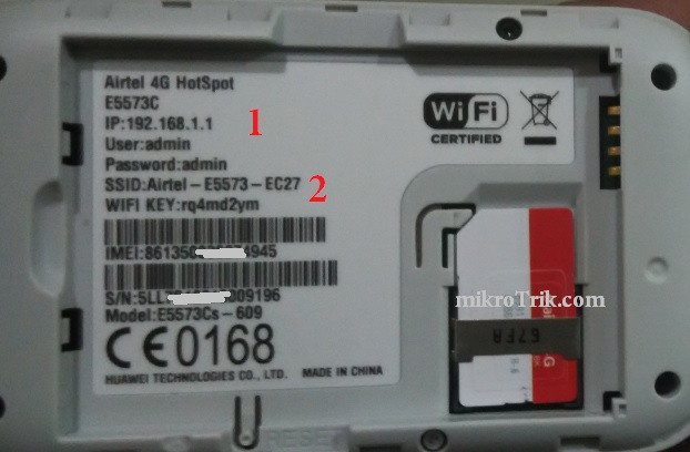 Airtel 4G Hotspot router Configuration First Time [Airtel
