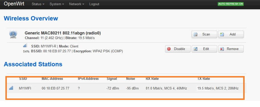 openwrt chaos calmer 15.05.1 as signal booster configuration