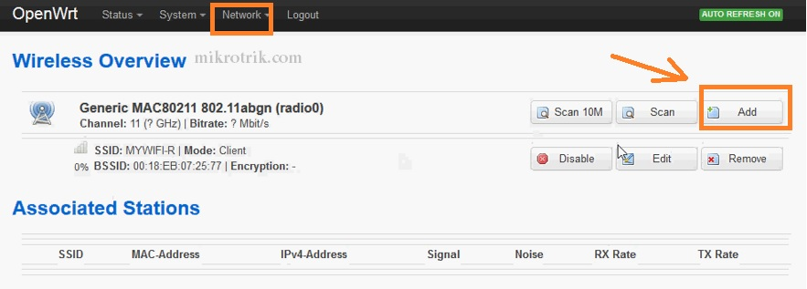 how to change openwrt repeater password