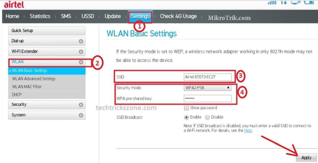 airtel b310 4g all sim support hotspot wifi router