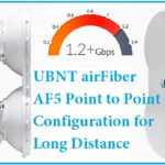 UBNT Airfiber AF5 Point to Point configuration
