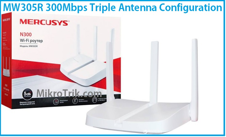 Mercusys MW305R WiFi Router Setup and Configuration First time