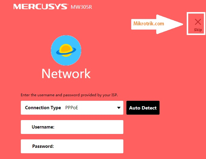 mercusys router wifi password change