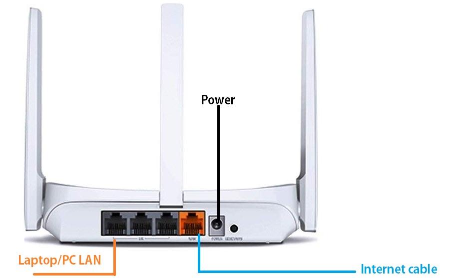 mercusys mw305r 300mbps wifi wireless n router (white)