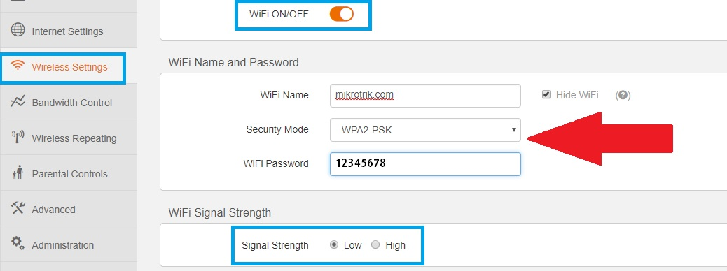 tenda wifi router not connect to internet