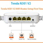 Tenda n301 v2 wifi router setup and configuration from mobile