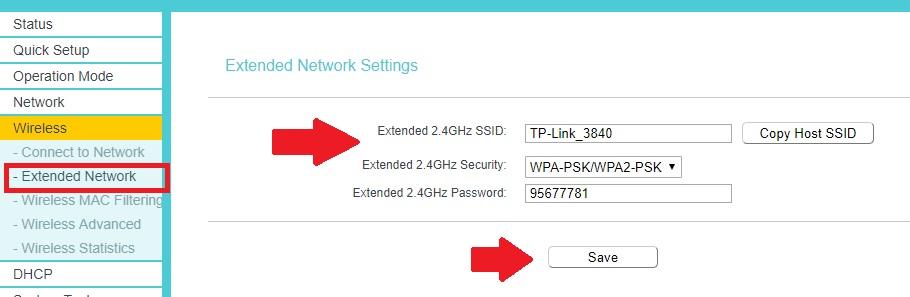 cara setting tp link mode repeater