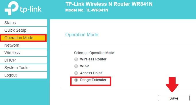 tp link tl wr702n konfiguracja repeater mode