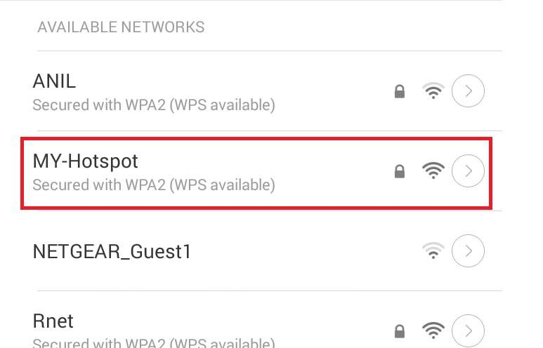 unable to setup mobile hotspot in windows 10