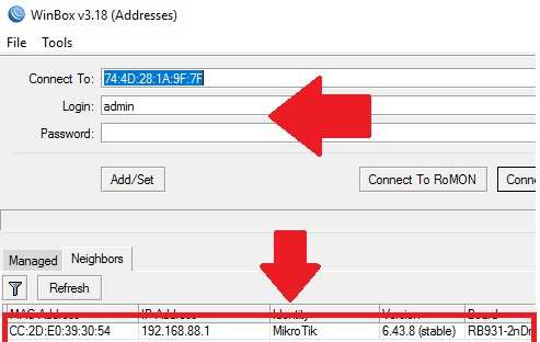 how to configure mikrotik routerboard