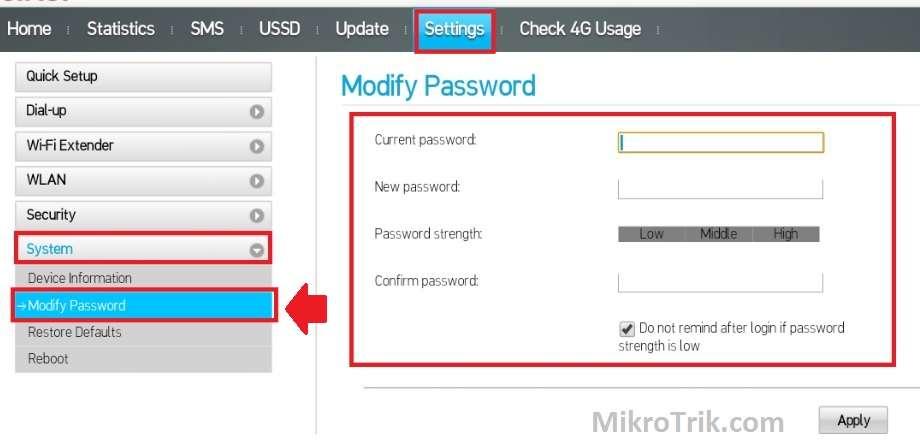 How to Factory Reset Airtel 4G Hotspot if Forgot Password