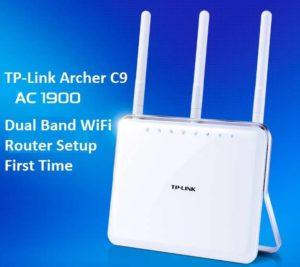 TP Link Archer C9 1900Mbps Dual Band Gigabit WiFi Router Setup