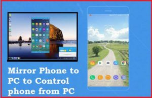 How to Access Phone screen to PC (Mirror Phone)