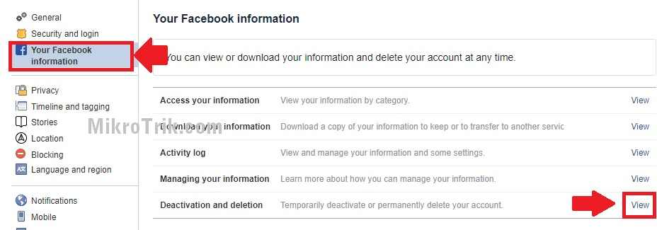 how to delete facebook messenger account
