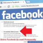 Permanently delete Facebook account Without Waiting