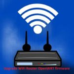 how to upgrade openWRT firmware