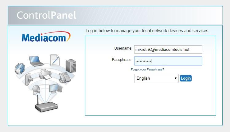 Mediacom Router Login Guide