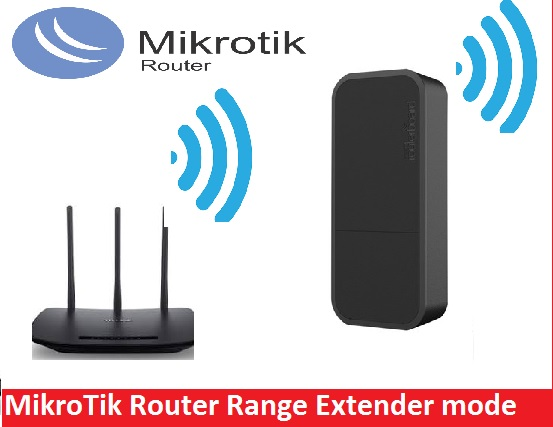 How to Setup MikroTik WiFi Router as Repeater mode