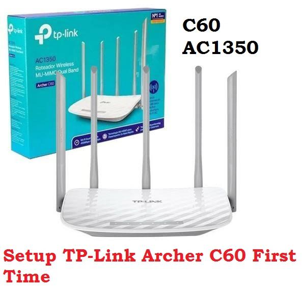 TP-Link AC1350 Archer C60 Login 192.168.0.1 and setup