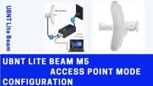 UBTN Lite Beam M5 Login 192.168.1.20