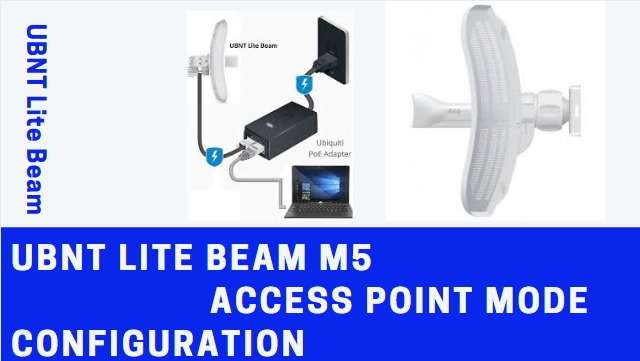 UBTN Lite Beam M5 Login 192.168.1.20