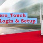 login airtel zero touch 192.168.1.1