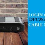 How to Login to the Cisco DPC3825
