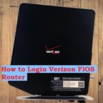 How to Login Verizon FiOS router Gateway?