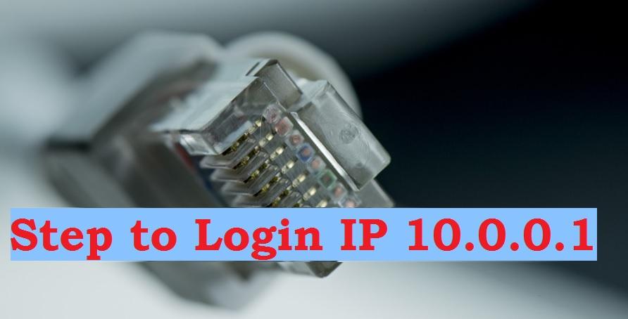 login 10.0.0.1