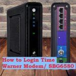 time warner router login