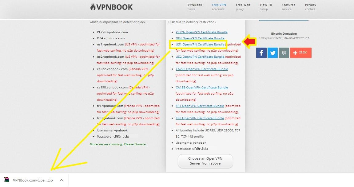 openvpn free server list