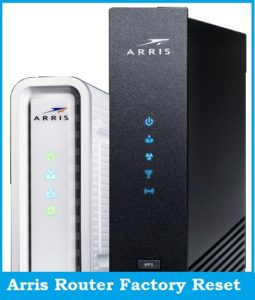 How to Reset an Arris Router or Modem