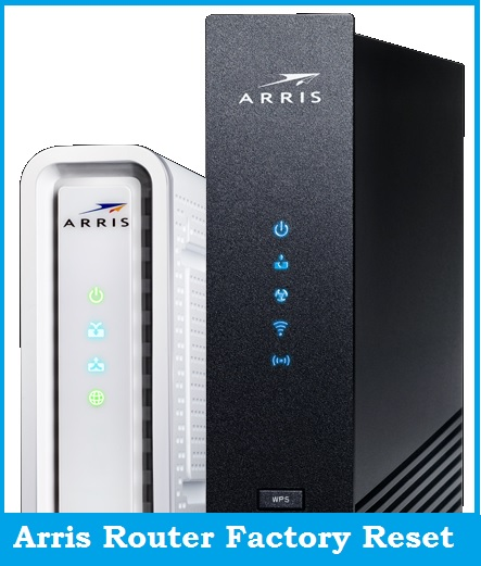 How to Factory Reset Arris Modem