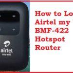 Login Airtel 4G LTE Hotspot Binatone BMF422 Portable WiFi Data Card