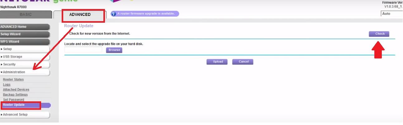 netgear genie firmware update online