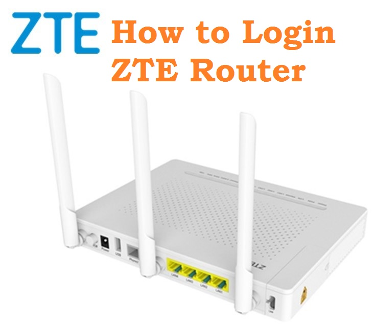 how to Login ZTE Router