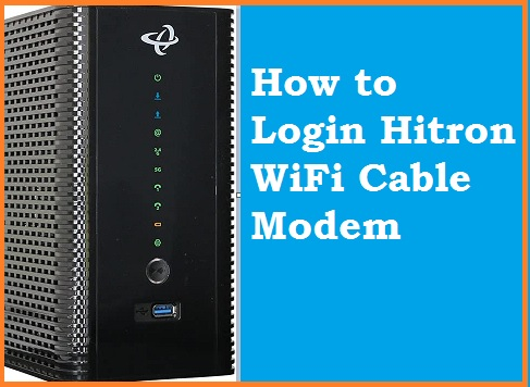 Change or Reset your WiFi Password - Hitron