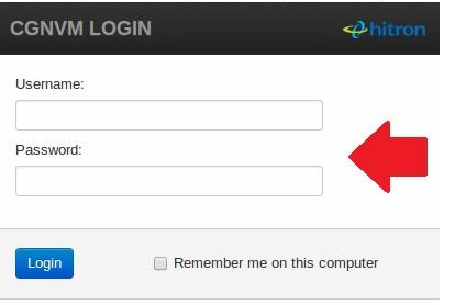 hitron router login