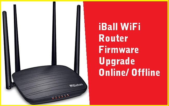 iBall WiFi Router Firmware Download and Upgrade
