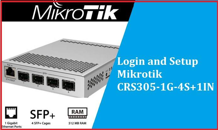 MikroTik CRS305-1G-4S+IN - Cloud Router Switch manual pdf