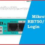 Mikrotik RB 750 Default Router Login and Password