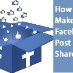 how do you make a post shareable on facebook